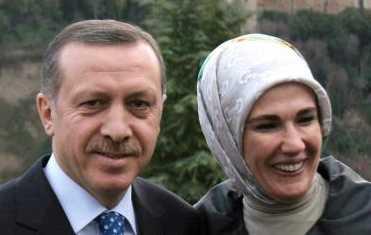 Erdogan mit Frau